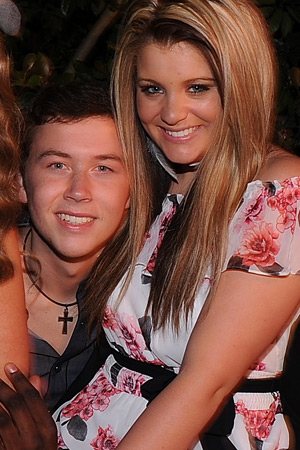 scotty mccreery is he dating lauren alaina Scotty mccreery and longtime girlfriend gabi dugal are engaged scotty popped the question during a hike in the mountains of north carolina near grandfather mountain when the couple summited the mountain, scotty got down on one knee, presented a ring he had helped design specifically for her, an.